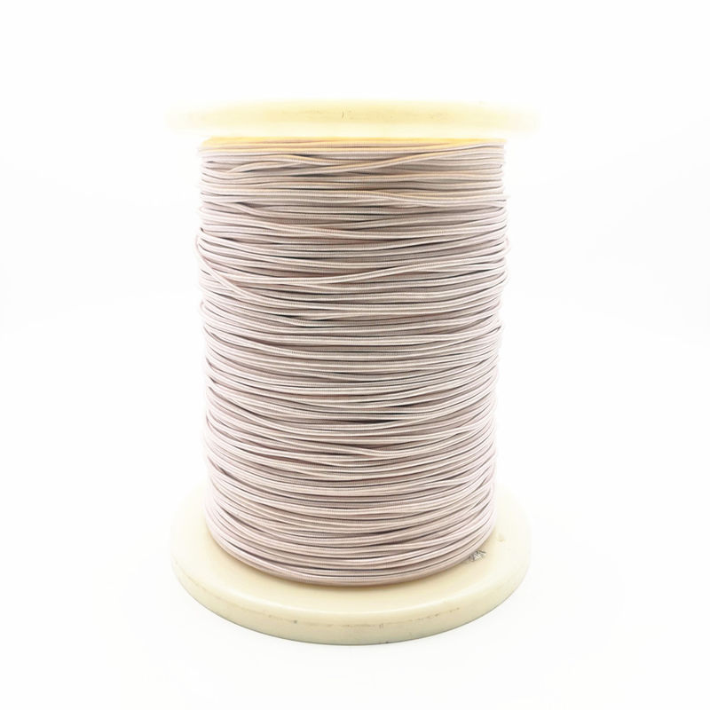 Awg38/1500 High Frequency Silk Covered Litz Wire Super Thin Enameled Coated